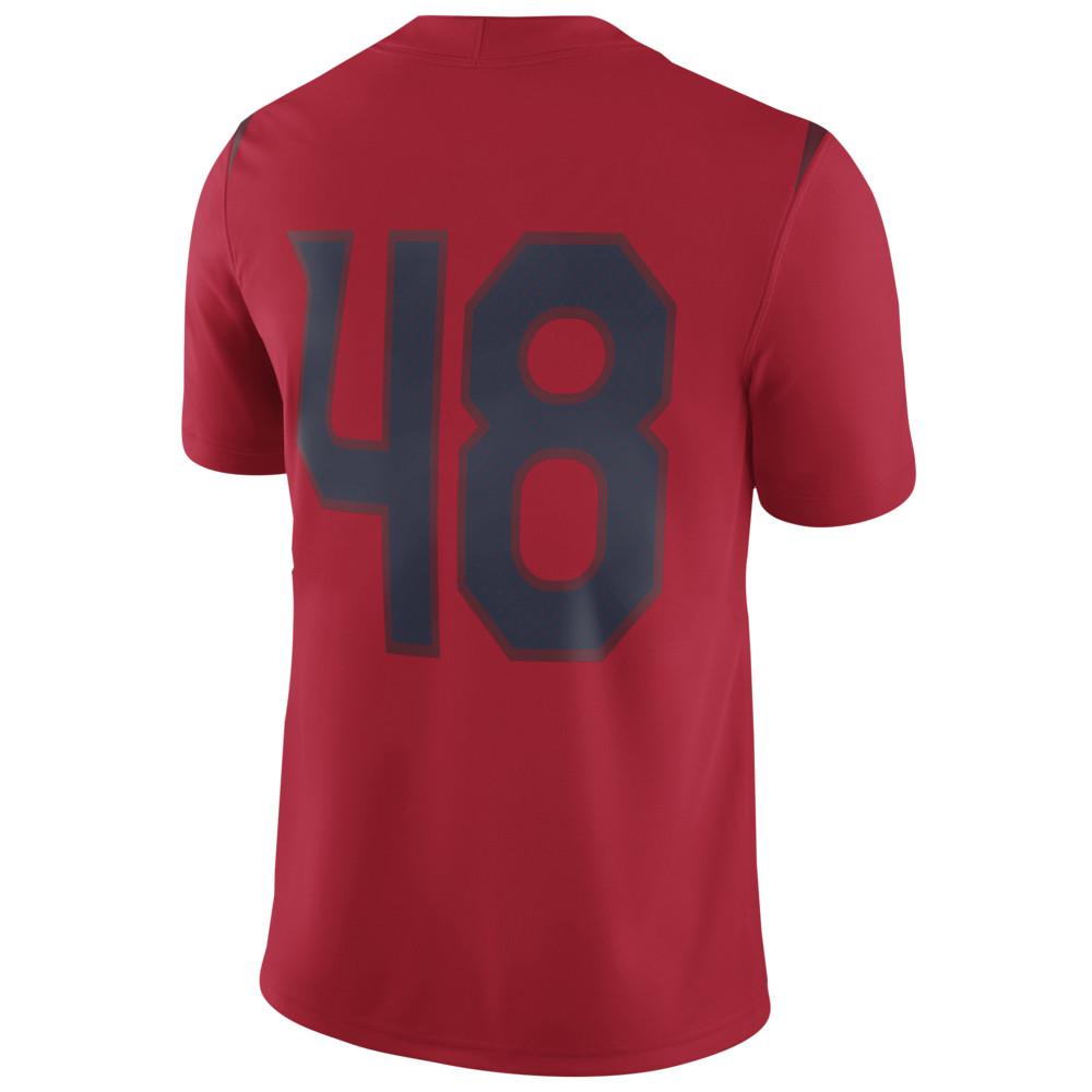 ナイキ Nike メンズ トップス【College Player Game Jersey】NCAA Arizona Wildcats Rob Gronkowski Red/Navy
