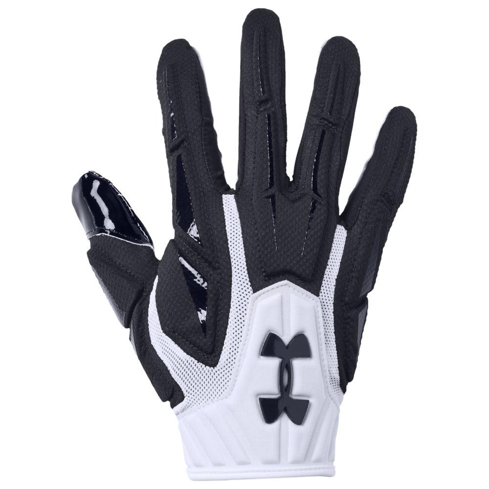 アンダーアーマー Under Armour メンズ アメリカンフットボール グローブ【Highlight NFL Receiver Glove】White/Black