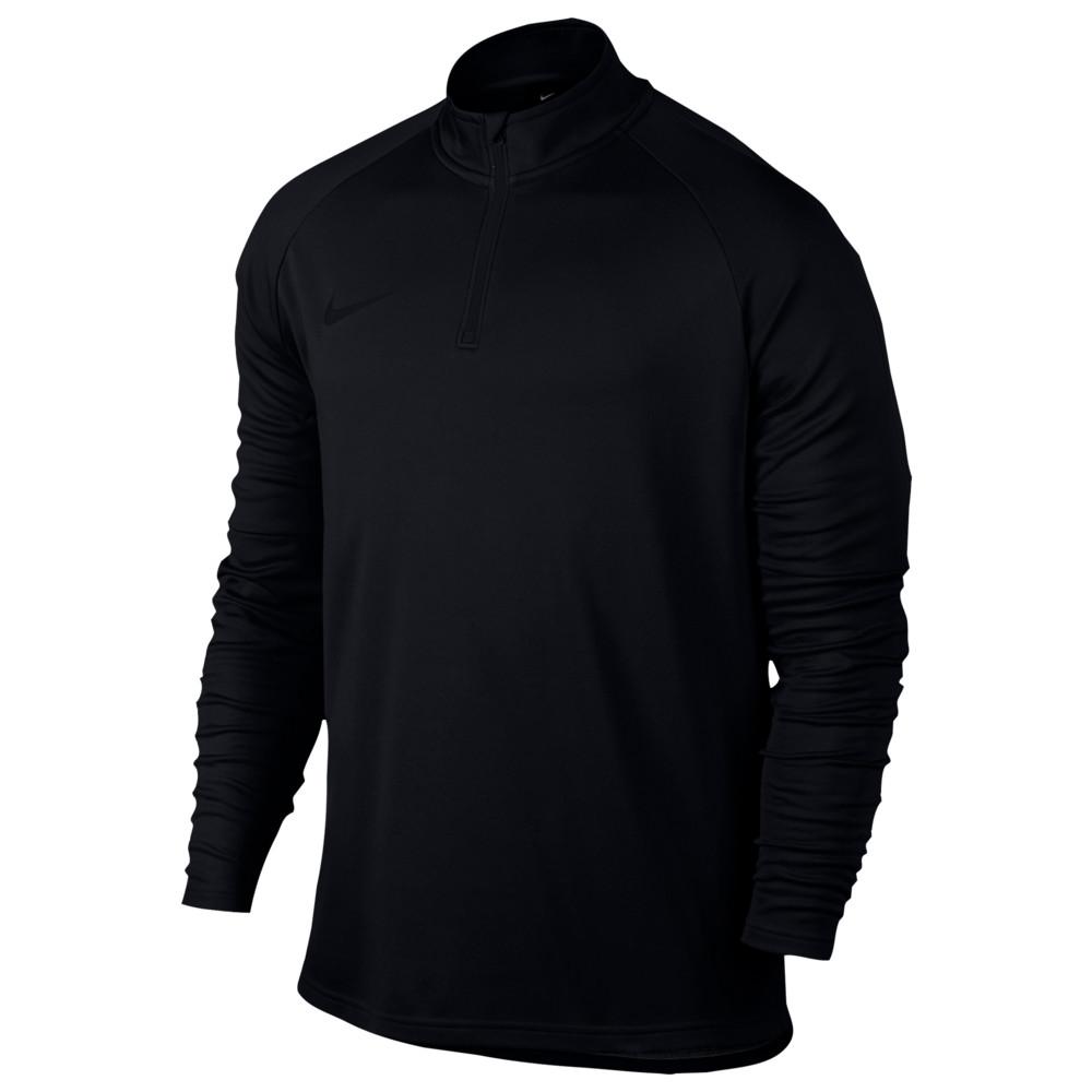 ナイキ Nike メンズ サッカー トップス【Academy 1/4 Zip Top】Black/Black
