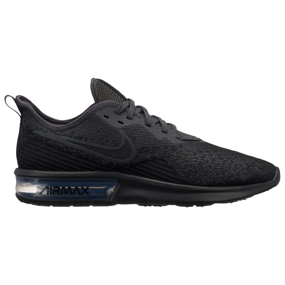 ナイキ Nike メンズ ランニング・ウォーキング シューズ・靴【Air Max Sequent 4】Black/Black/Anthracite/Anthracite