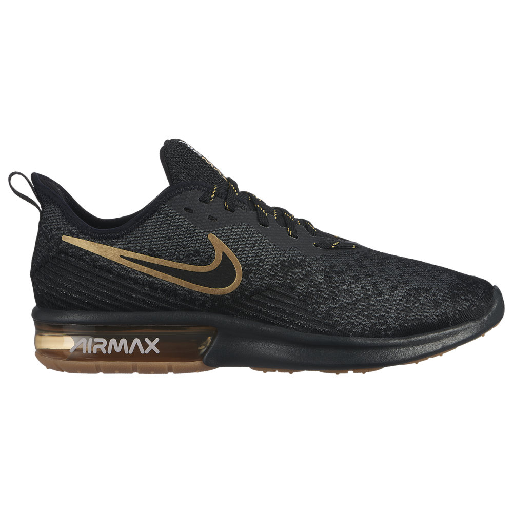 ナイキ Nike メンズ ランニング・ウォーキング シューズ・靴【Air Max Sequent 4】Black/Black/Anthracite/White/Gum Light Brown