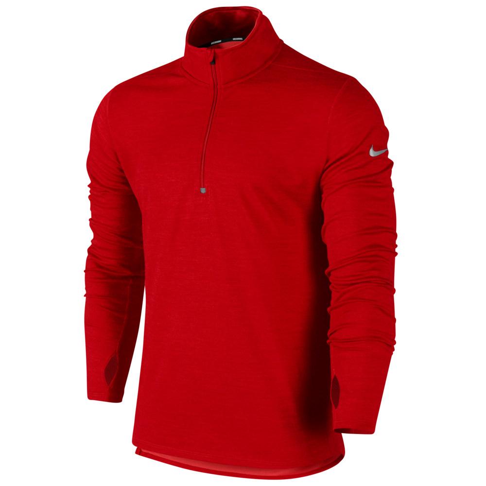 ナイキ Nike メンズ ランニング・ウォーキング トップス【Dri-FIT Wool 1/2 Zip】Gym Red/Action Red/Reflective Silver