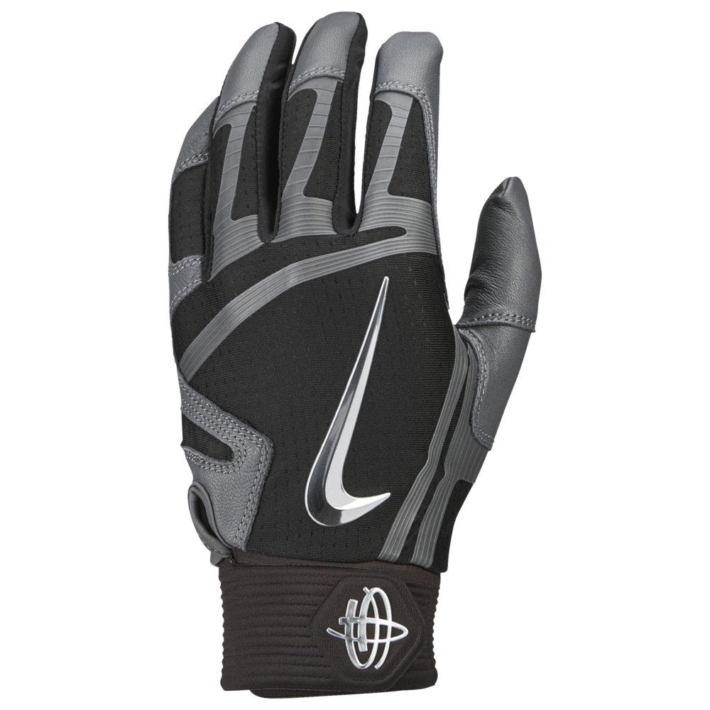 ナイキ Nike メンズ 野球 グローブ【Huarache Elite Batting Gloves】Black/Dark Grey/Chrome