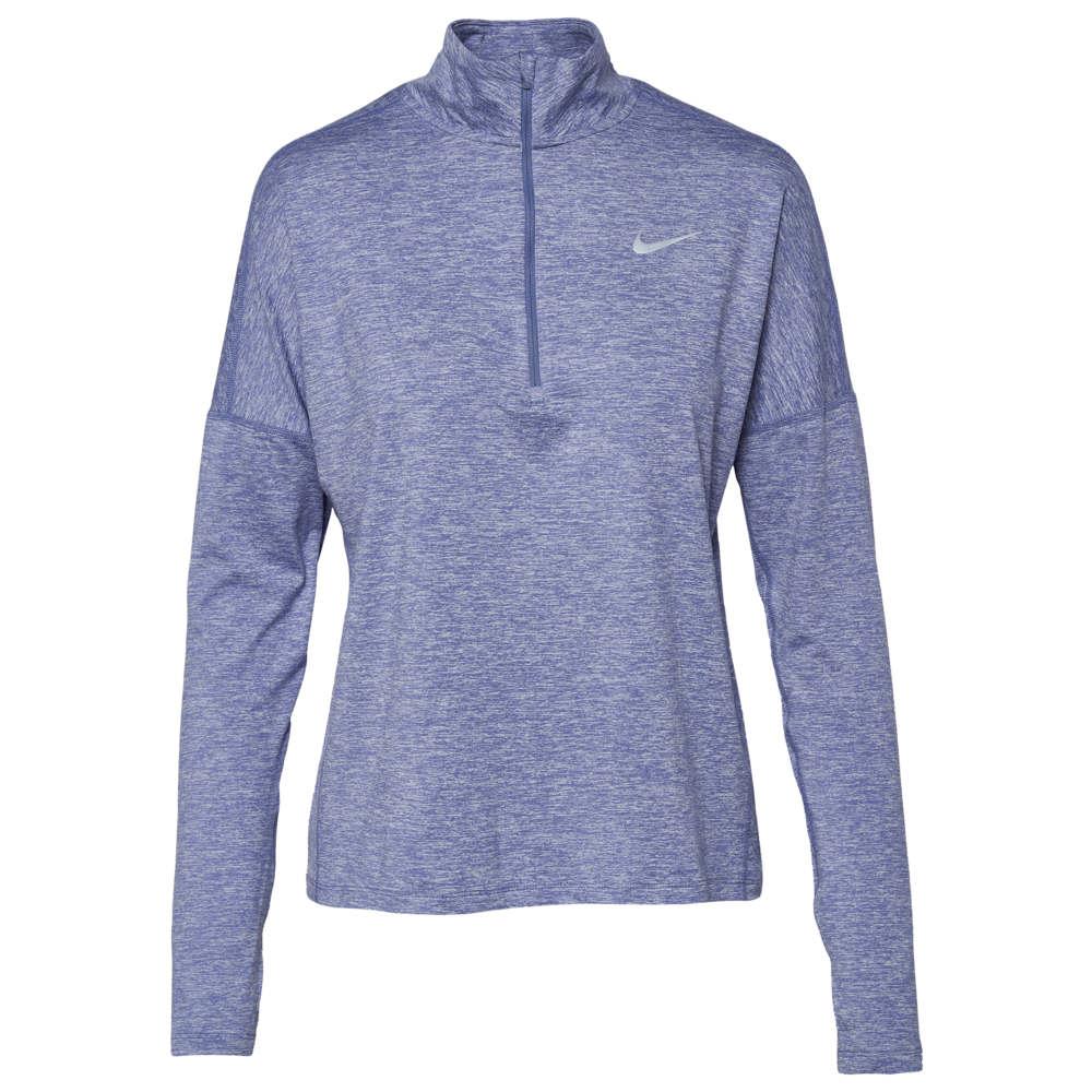 ナイキ Nike レディース ランニング・ウォーキング トップス【Dri-FIT Element 1/2 Zip】Purple Slate Heather