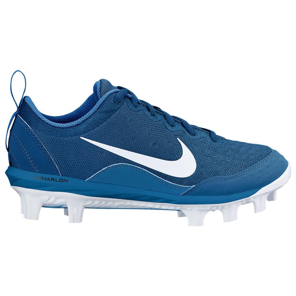 ナイキ Nike レディース 野球 シューズ・靴【Hyperdiamond 2 Pro MCS】Gym Blue/White/Military Blue