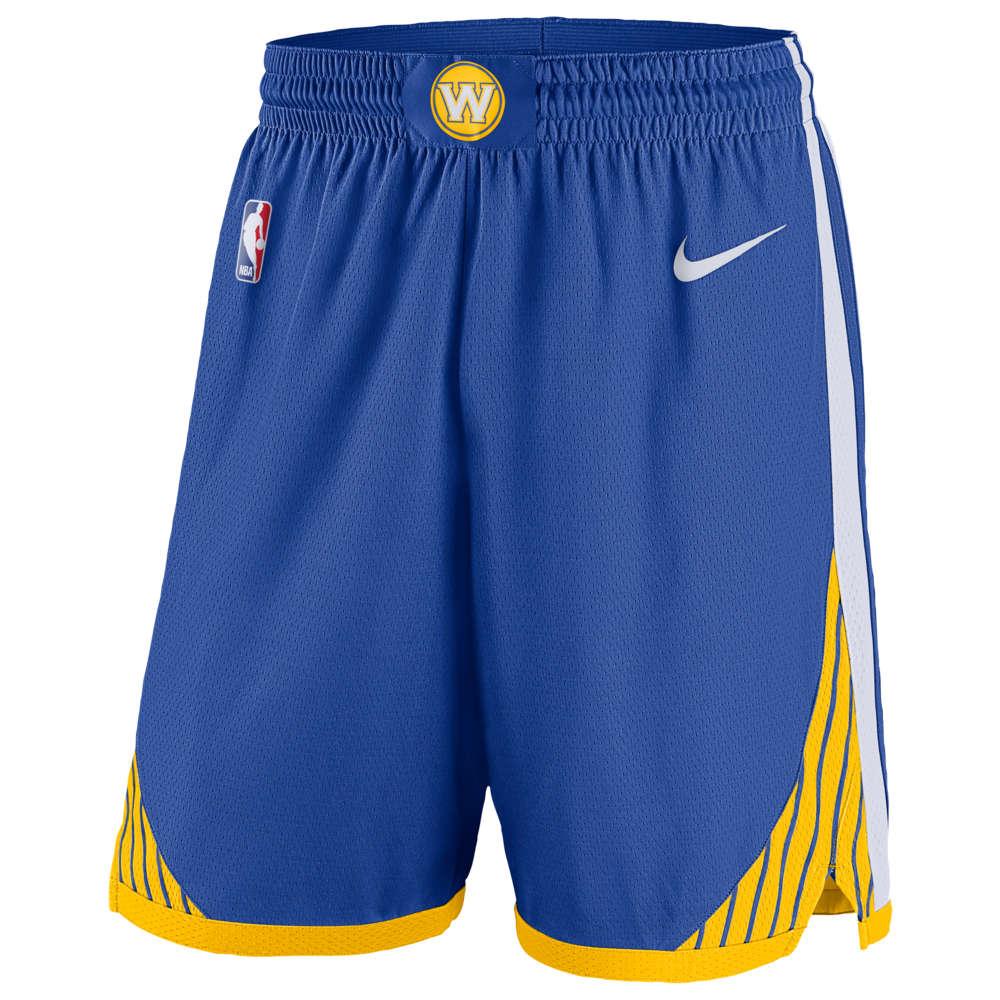 ナイキ Nike メンズ バスケットボール ボトムス・パンツ【NBA Swingman Shorts】NBA Golden State Warriors Rush Blue