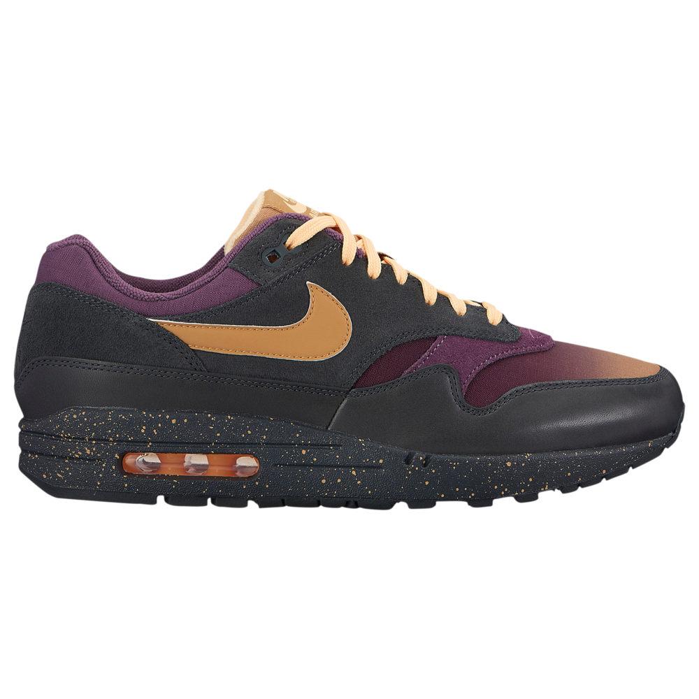 ナイキ Nike メンズ ランニング・ウォーキング シューズ・靴【Air Max 1 Premium】Anthracite/Elemental Gold/Pro Purple