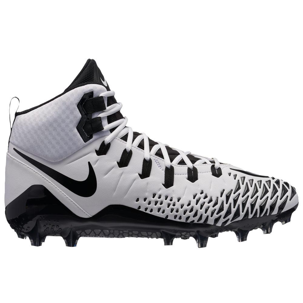 ナイキ Nike メンズ アメリカンフットボール シューズ・靴【Force Savage Pro】White/Black/White/Black