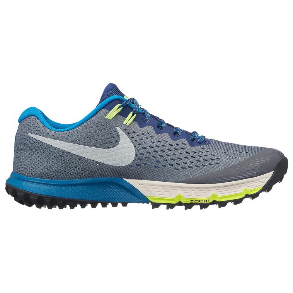 ナイキ Nike メンズ ランニング・ウォーキング シューズ・靴【Zoom Terra Kiger 4】Dark Grey/Metallic Silver/Blue Void/Green Abyss