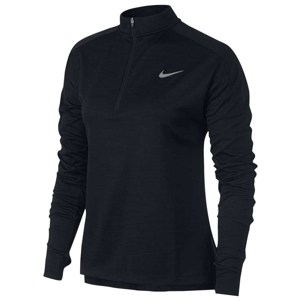 ナイキ Nike レディース ランニング・ウォーキング トップス【Pacer 1/2 Zip Top】Black