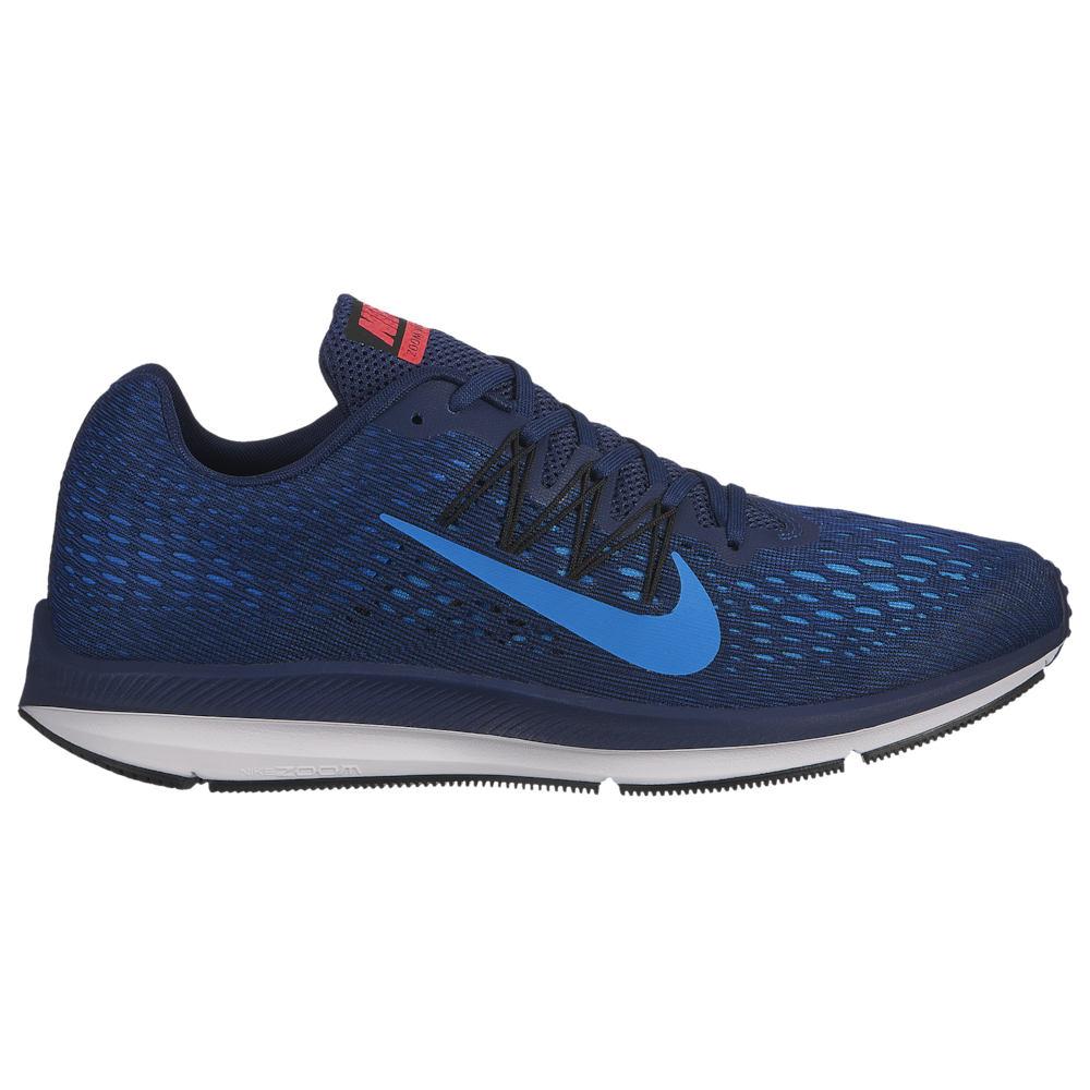 ナイキ Nike メンズ ランニング・ウォーキング シューズ・靴【Zoom Winflo 5】Blue Void/Photo Blue/Indigo Force/Black/Red Orbit