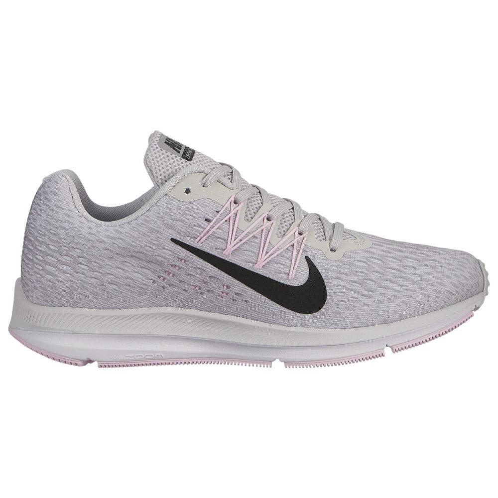 ナイキ Nike レディース ランニング・ウォーキング シューズ・靴【Zoom Winflo 5】Vast Grey/Black/Atmosphere Grey/Pink Foam