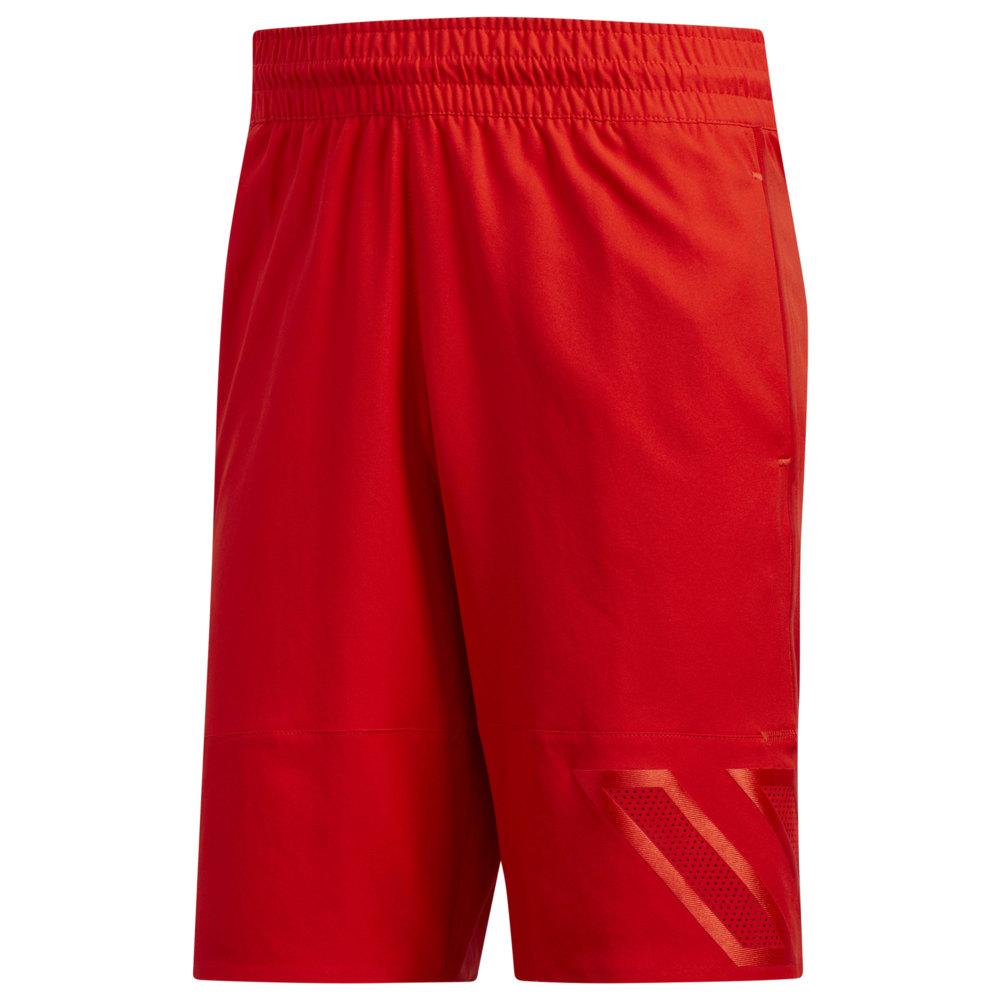 アディダス adidas メンズ バスケットボール ボトムス・パンツ【Pro Accelerate Next Level Shorts】Active Red