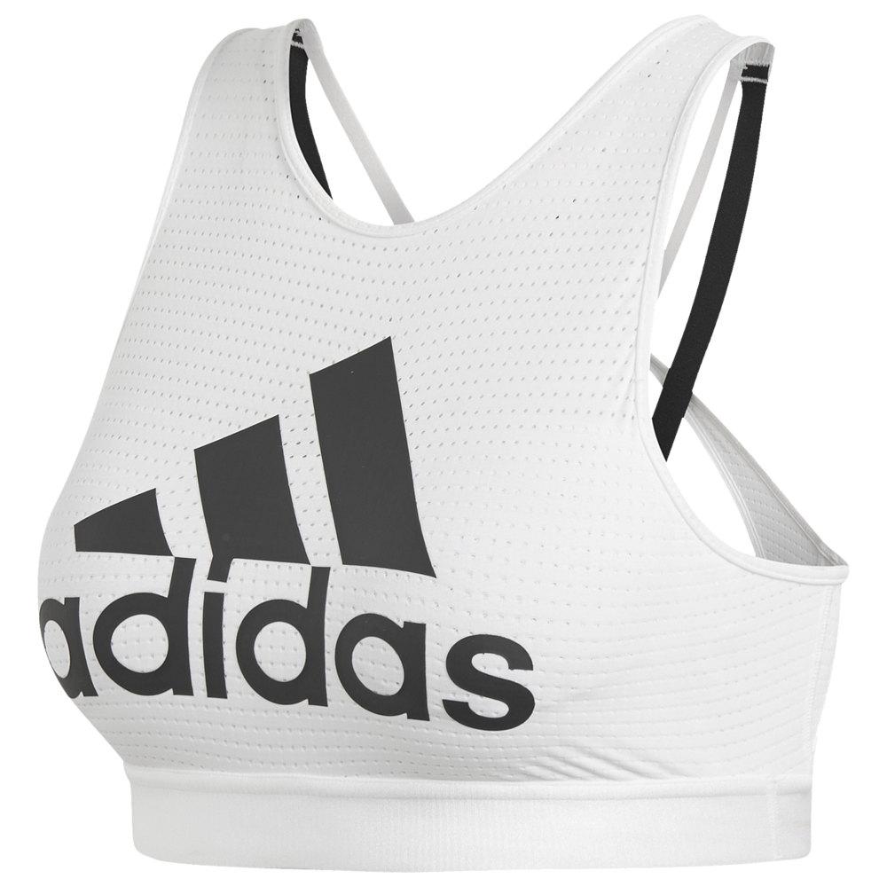 アディダス adidas レディース インナー・下着 スポーツブラ【Halter 2.0 Sport Bra】White/Black