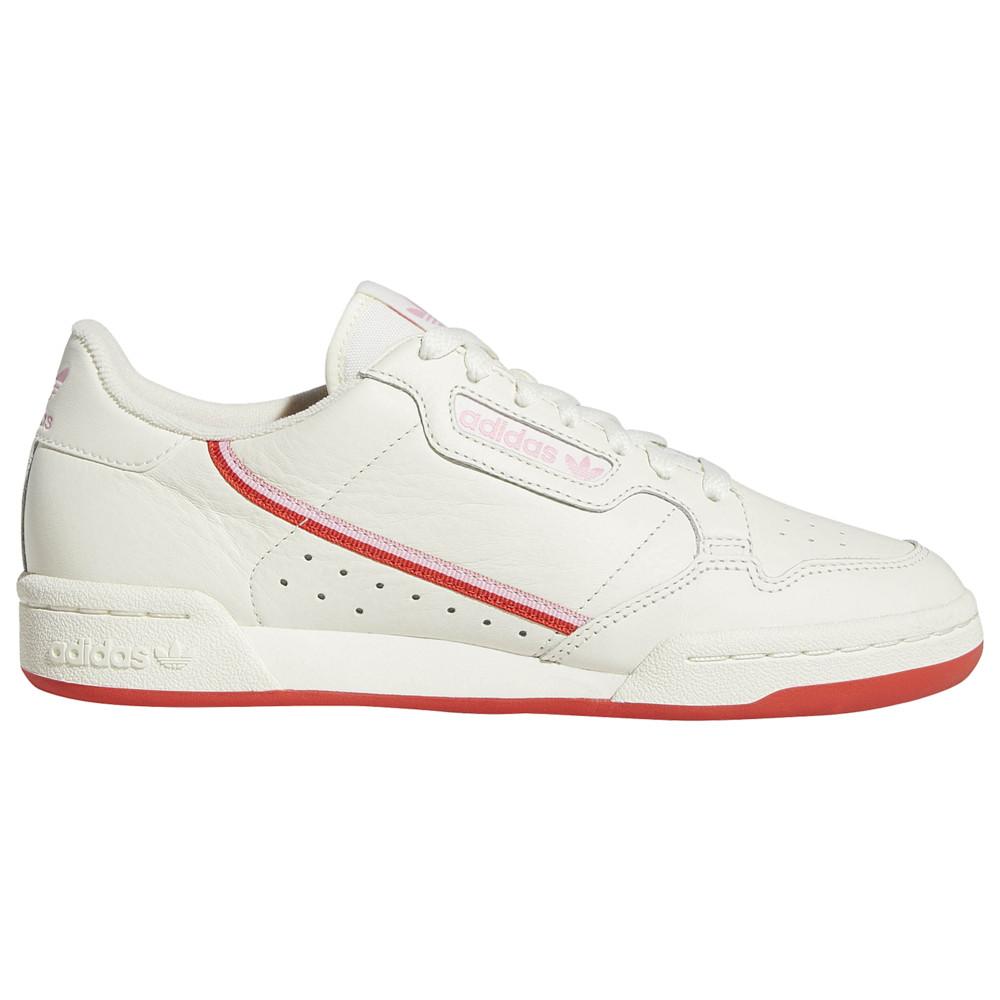アディダス adidas Originals レディース ランニング・ウォーキング シューズ・靴【Continental 80】Off White/Active Red/True Pink