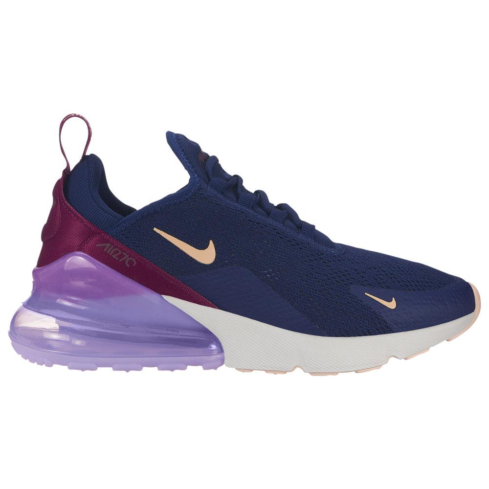 ナイキ Nike レディース ランニング・ウォーキング シューズ・靴【Air Max 270】Blue Void/Crimson Tint/True Berry/Platinum