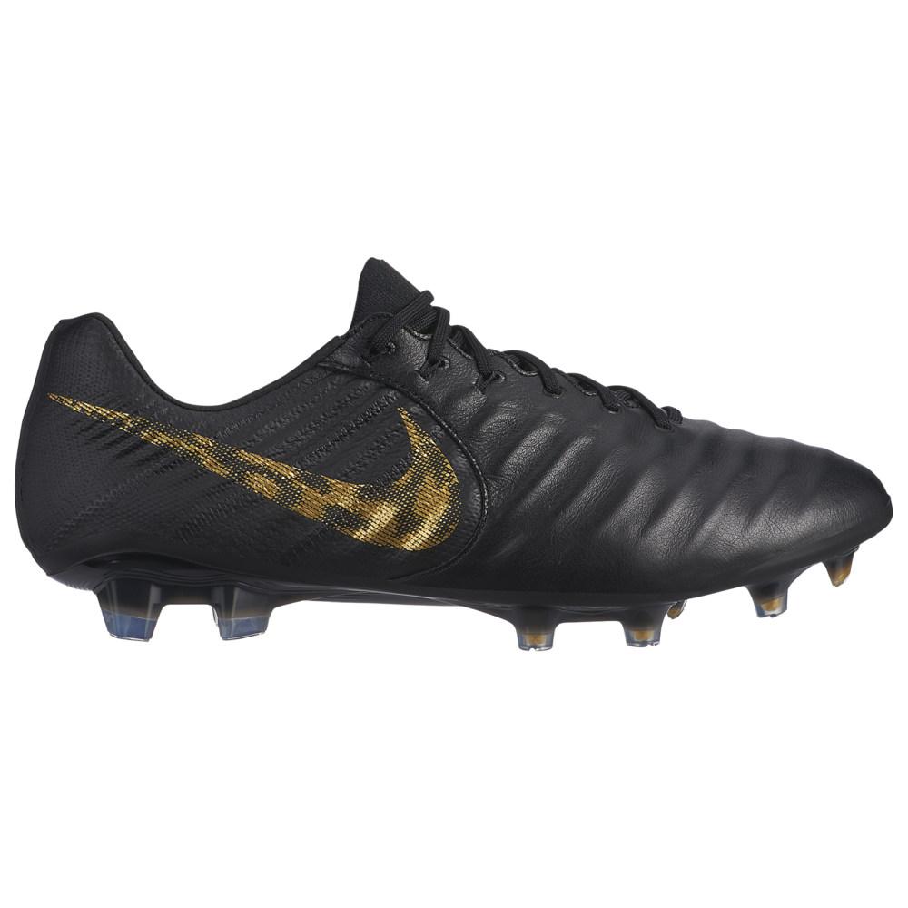ナイキ Nike メンズ サッカー シューズ・靴【Tiempo Legend 7 Elite FG】Black/Metallic Gold Black Lux