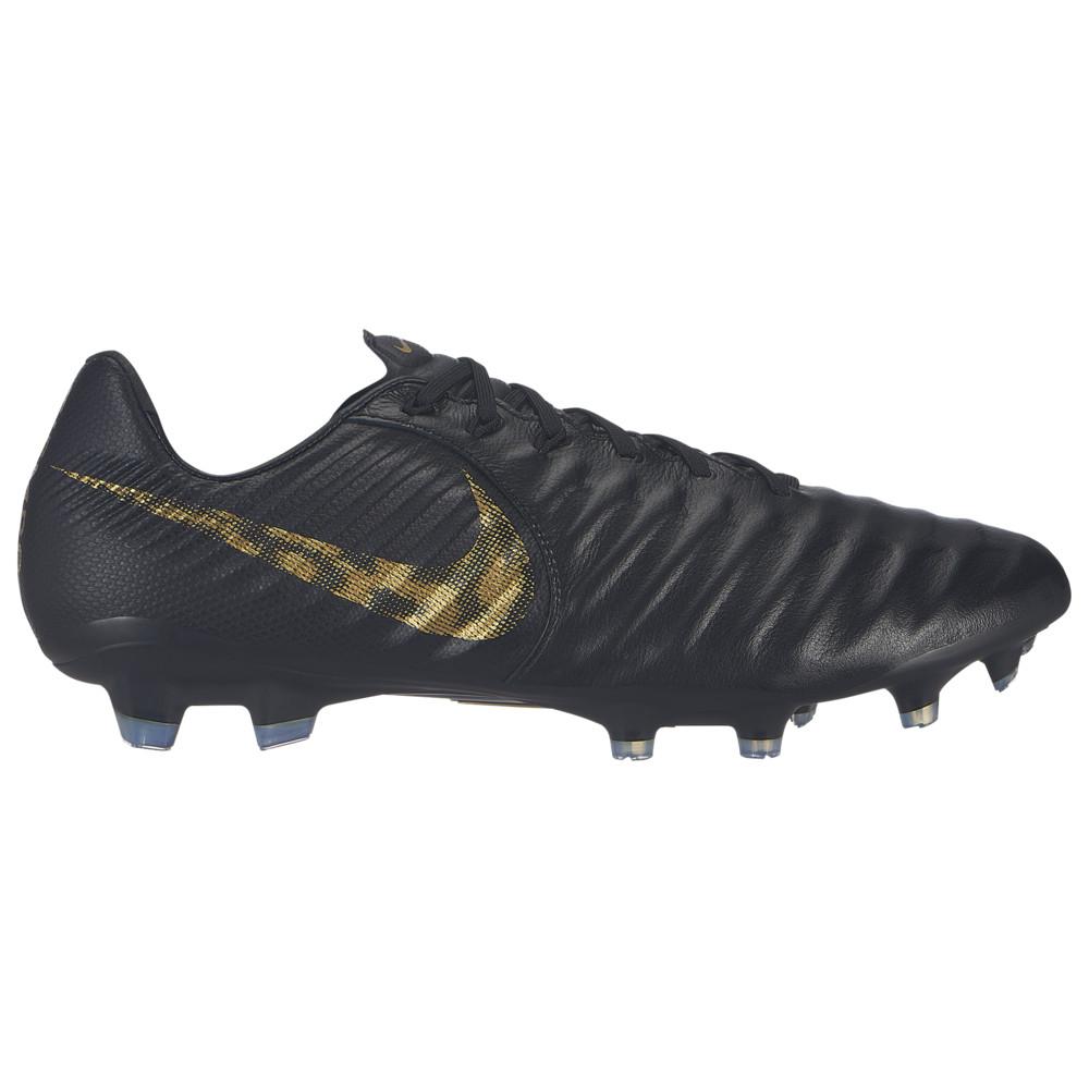 ナイキ Nike メンズ サッカー シューズ・靴【Tiempo Legend 7 Pro FG】Black/Metallic Vivid Gold Black Lux