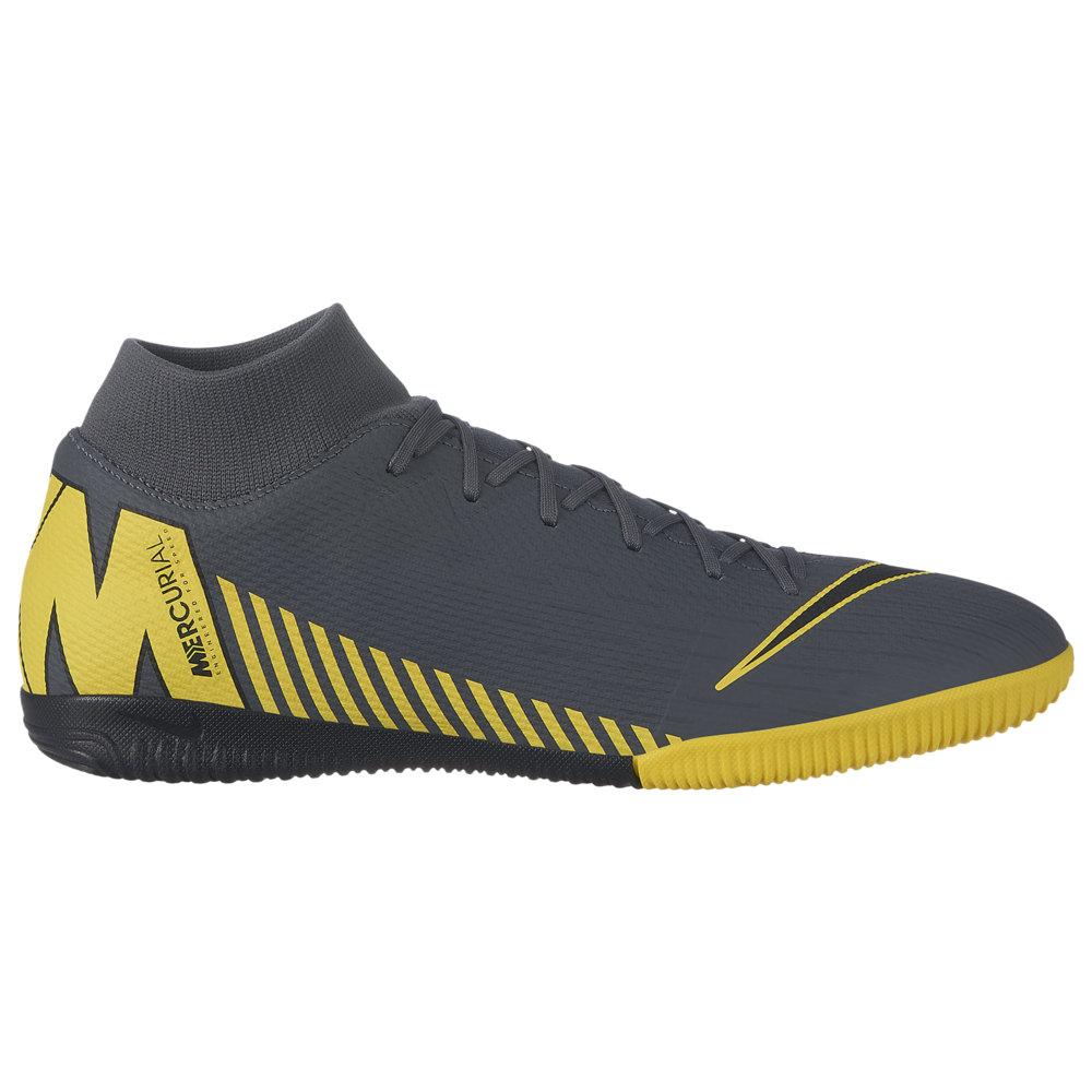 ナイキ Nike メンズ サッカー シューズ・靴【Mercurial SuperflyX 6 Academy IC】Dark Grey/Black/Optic Yellow Game Over