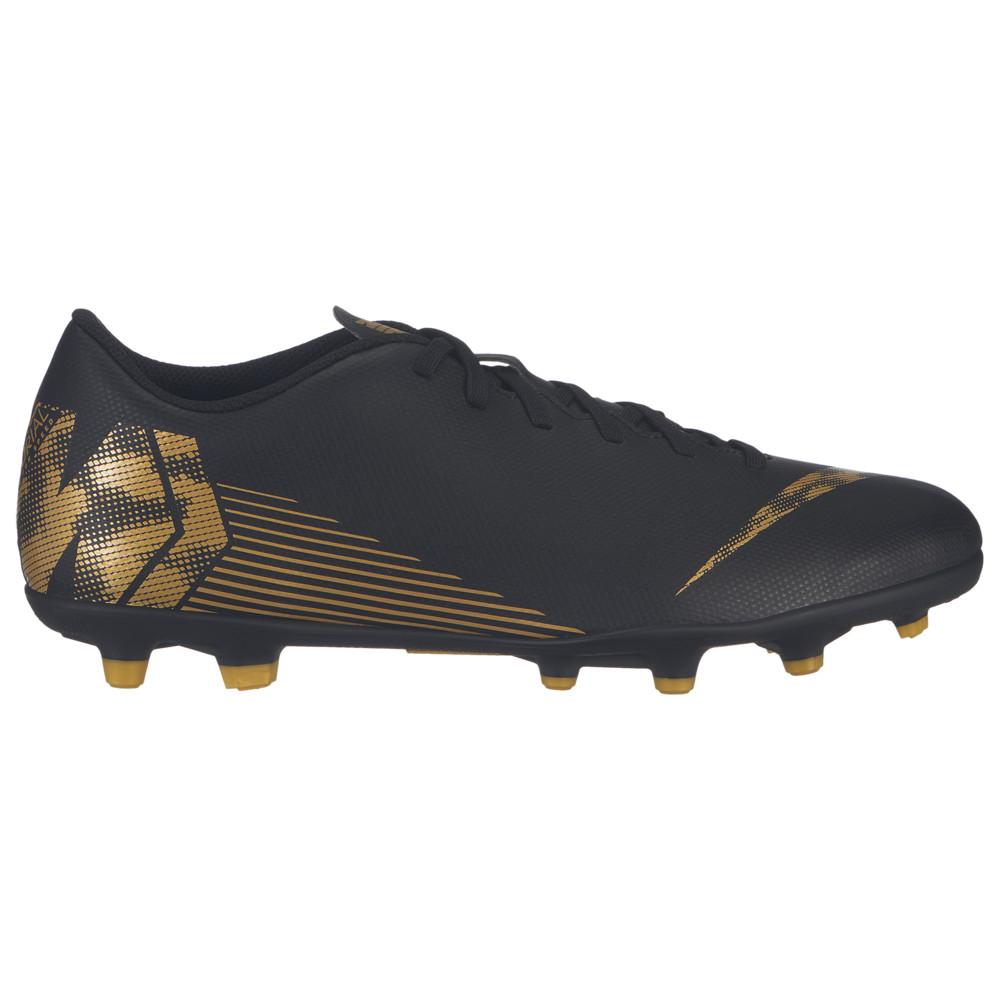 ナイキ Nike メンズ サッカー シューズ・靴【Mercurial Vapor 12 Club MG】Black/Metallic Vivid Gold Black Lux