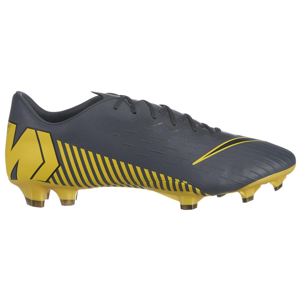 ナイキ Nike メンズ サッカー シューズ・靴【Mercurial Vapor 12 Pro FG】Dark Grey/Black/Optic Yellow Game Over