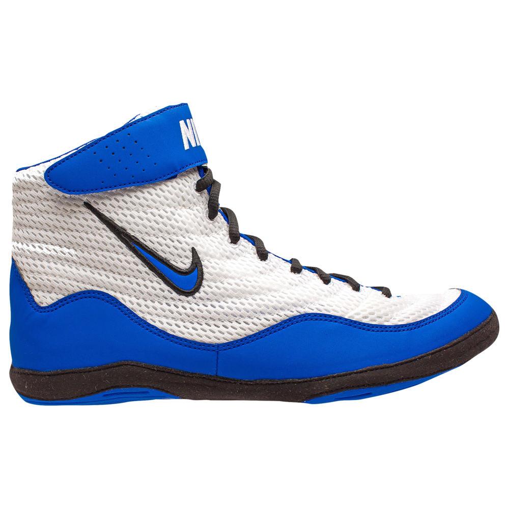ナイキ Nike メンズ レスリング シューズ・靴【Inflict 3】White/Game Royal/Black
