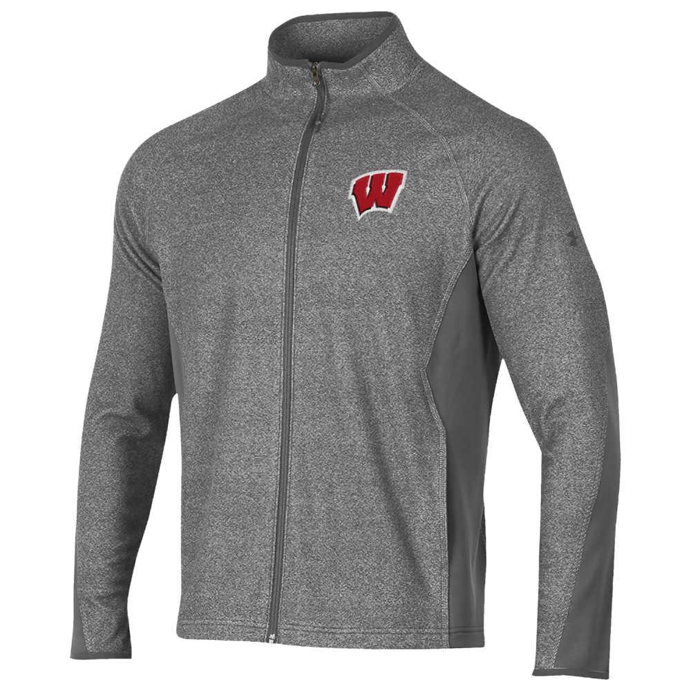 アンダーアーマー Under Armour メンズ アウター ジャケット【College Infrared Phenom Full-Zip Jacket】NCAA Wisconsin Badgers Graphite