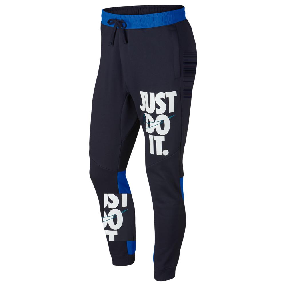 ナイキ Nike メンズ ボトムス・パンツ ジョガーパンツ【JDI Jogger】Obsidian/Signal Blue