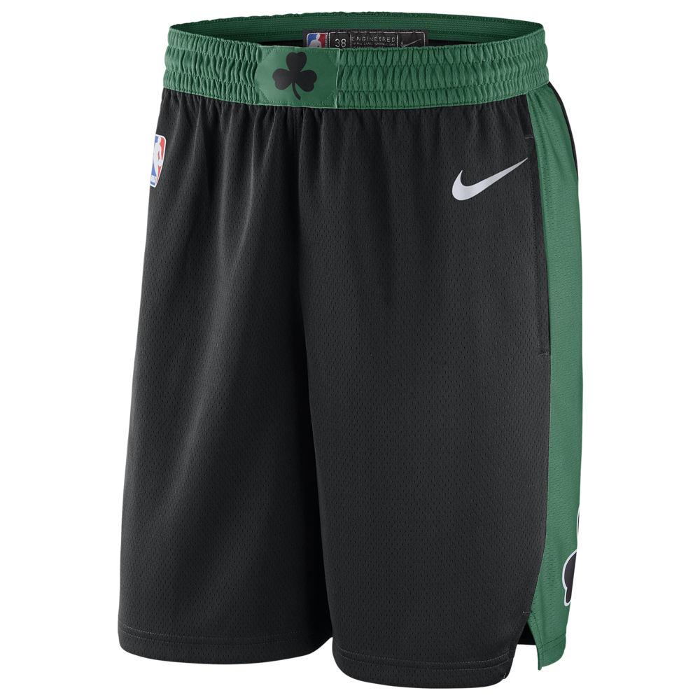ナイキ Nike メンズ バスケットボール ボトムス・パンツ【NBA Swingman Shorts】NBA Boston Celtics Black/Clover/White Alt