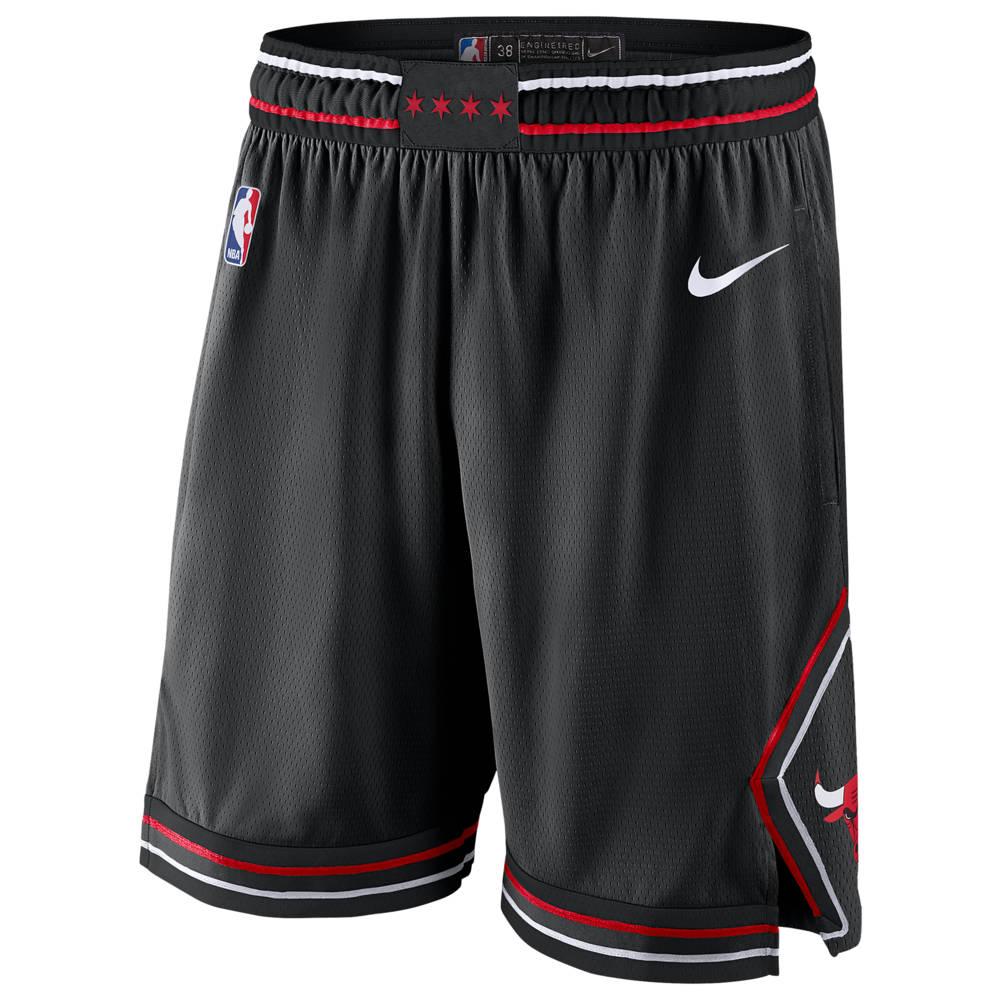 ナイキ Nike メンズ バスケットボール ボトムス・パンツ【NBA Swingman Shorts】NBA Chicago Bulls Black
