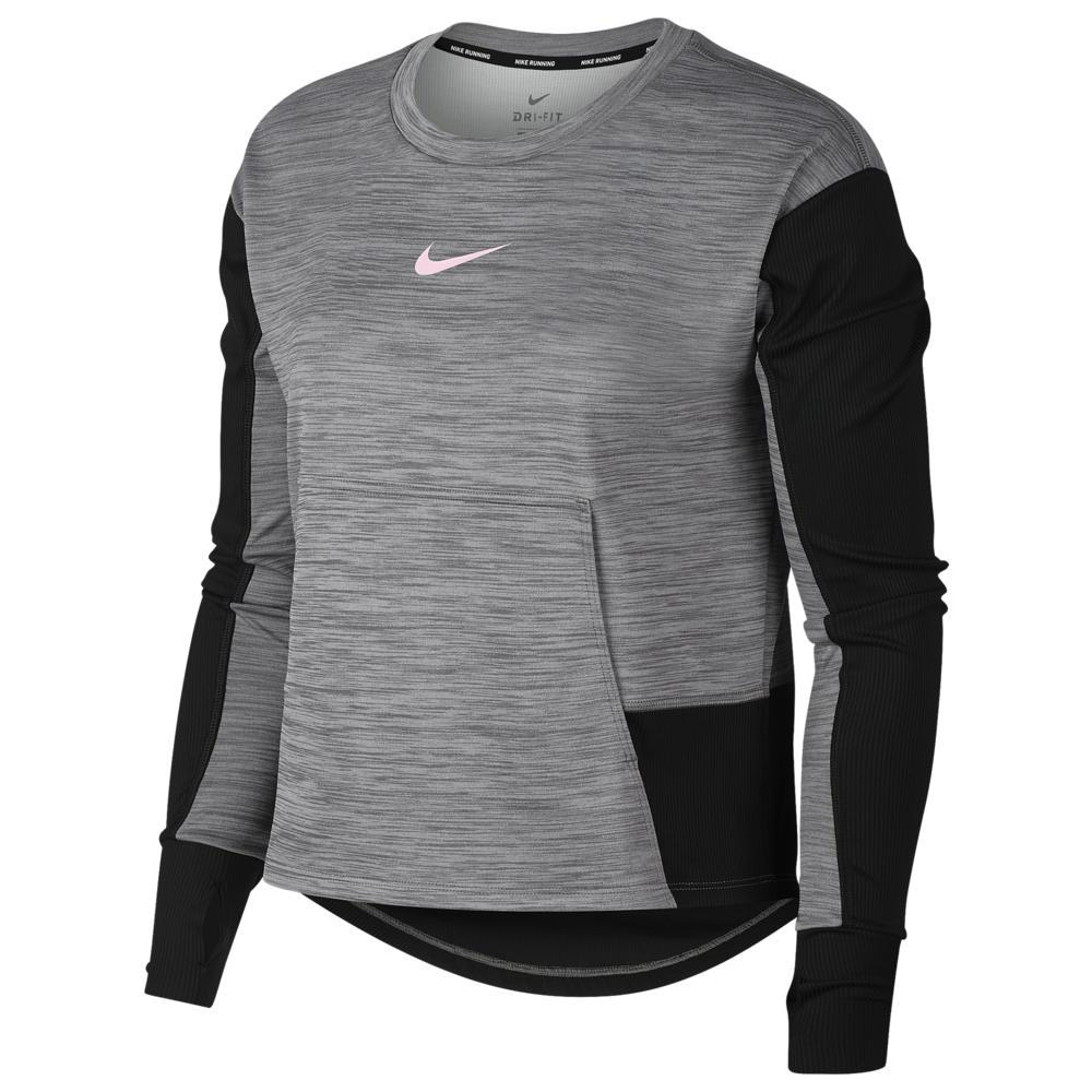 直送商品 ナイキ Nike レディース Foam フィットネス レディース・トレーニング トップス【Pacer Crew Top ナイキ】Gunsmoke/Heather/Black/Pink Foam Sport Distort, HALLSHOT ホールショット:c8268e73 --- canoncity.azurewebsites.net