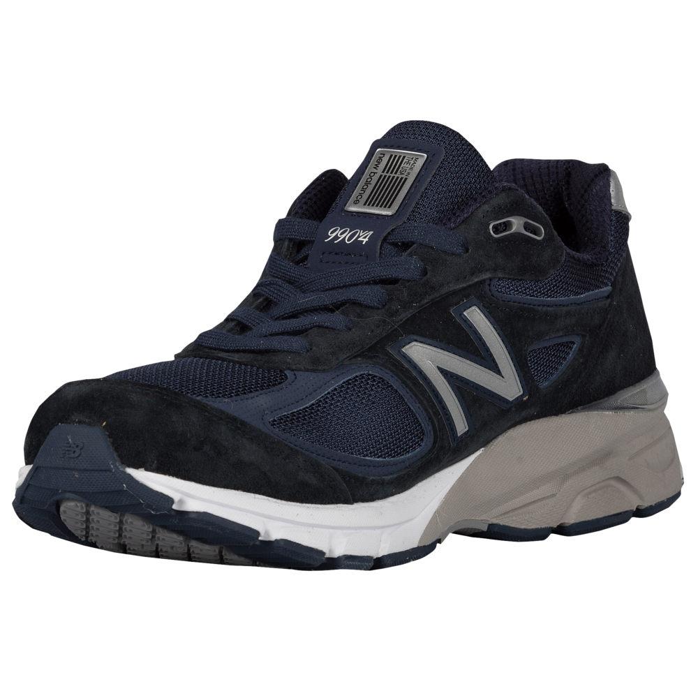 ニューバランス New Balance メンズ ランニング・ウォーキング シューズ・靴【990】Navy/Silver Made in USA