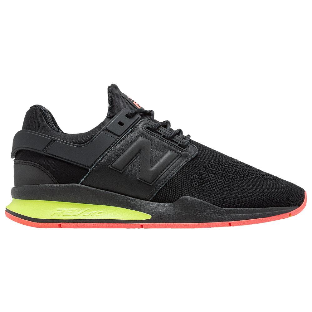 ニューバランス New Balance メンズ ランニング・ウォーキング シューズ・靴【247】Black/Solar Yellow
