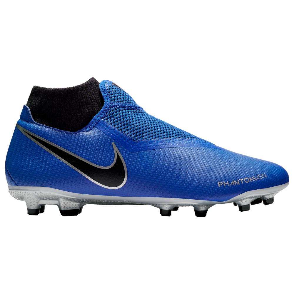 ナイキ Nike メンズ サッカー シューズ・靴【Phantom Vision Academy DF MG】Racer Blue/Black/Metallic Silver/Volt New Wave Ch.1