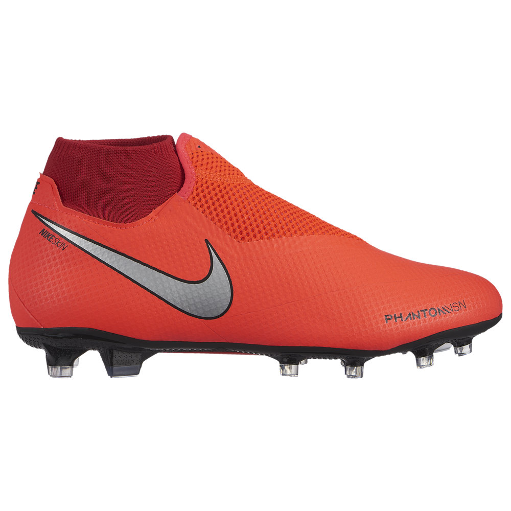 ナイキ Nike メンズ サッカー シューズ・靴【Phantom Vision Pro DF FG】Bright Crimson/Metallic Silver/University Red Game Over