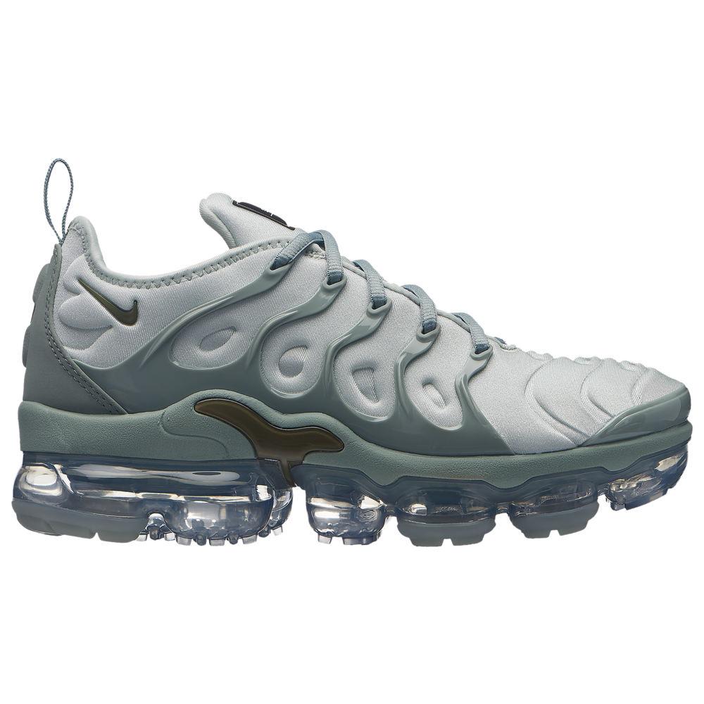 ナイキ Nike レディース ランニング・ウォーキング シューズ・靴【Air Vapormax Plus】Light Silver/Medium Olive/Reflect Silver/Black