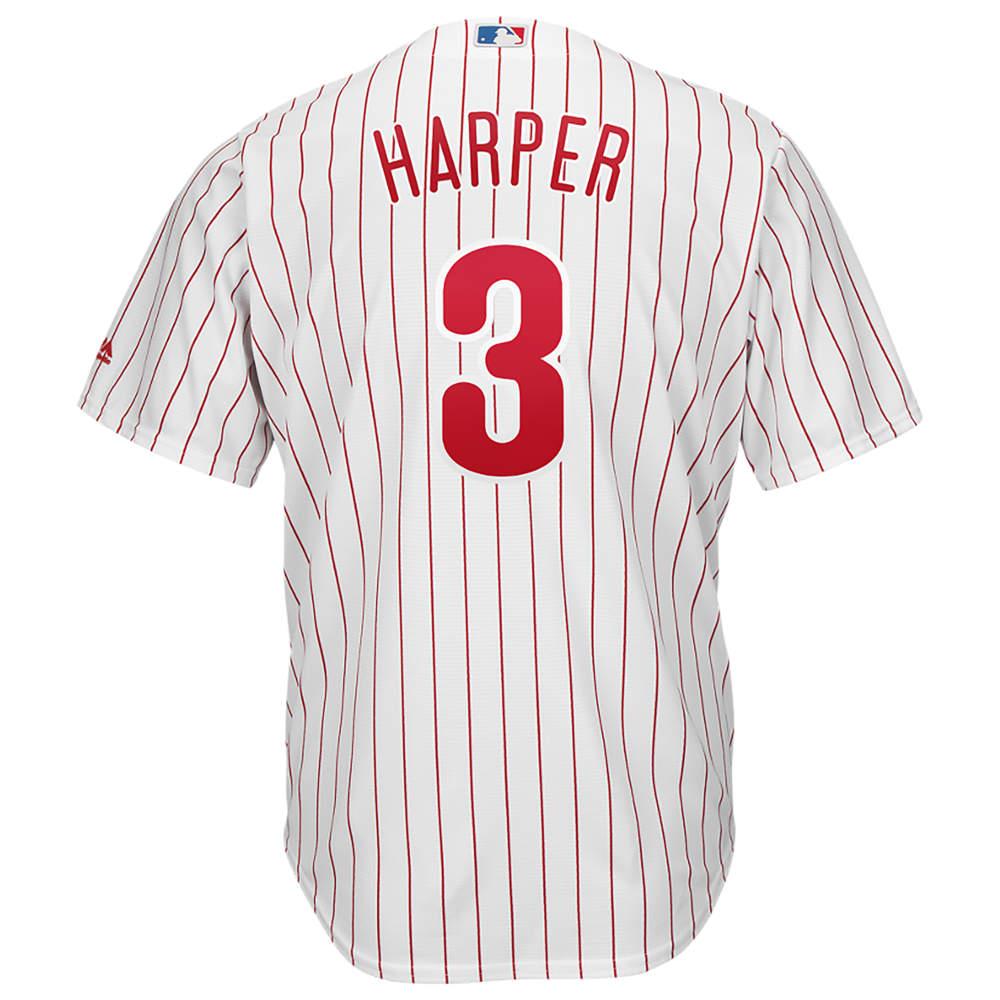 マジェスティック Majestic メンズ トップス【MLB Cool Base Player Jersey】MLB Philadelphia Phillies Bryce Harper White
