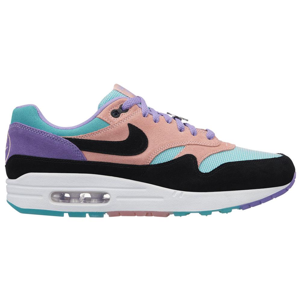 ナイキ Nike メンズ ランニング・ウォーキング シューズ・靴【Air Max 1】Space Purple/Black/Bleached Coral ND / Have a Nike Day
