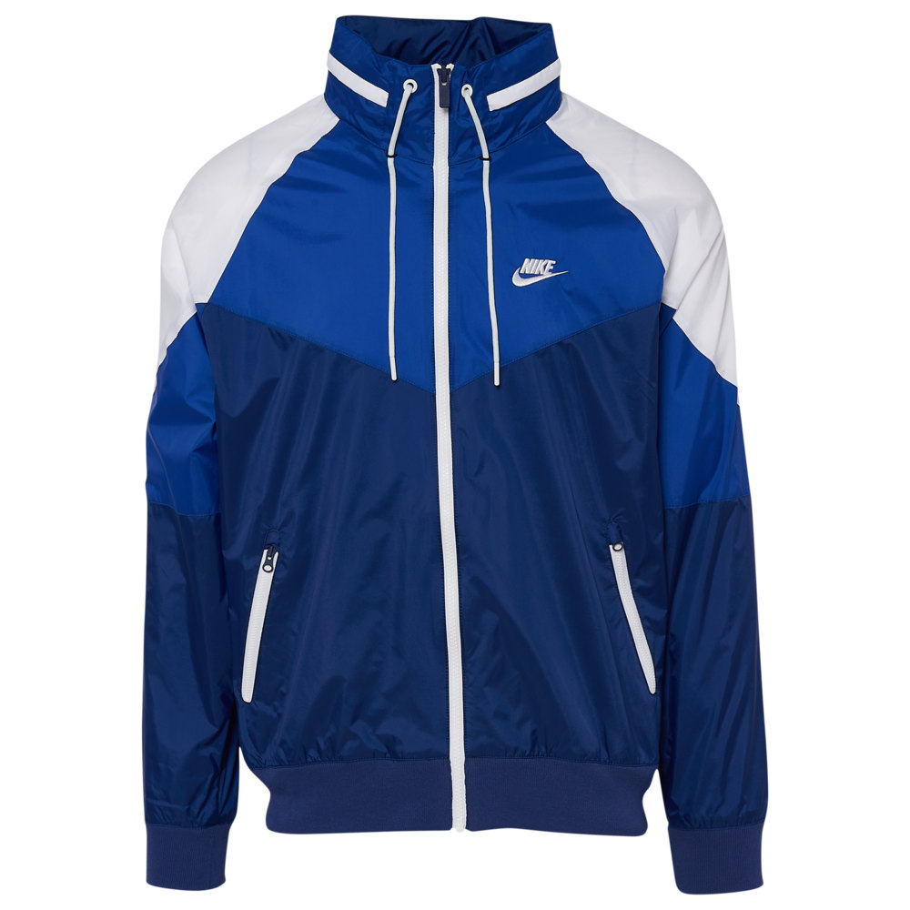 ナイキ Nike メンズ アウター ジャケット【Windrunner + Jacket】Blue Void/Indigo Force/White