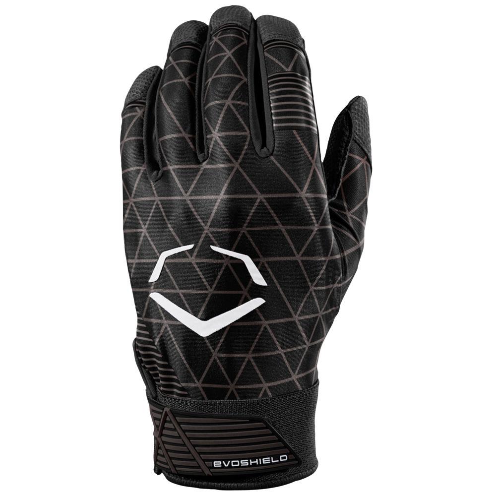 エボシールド Evoshield メンズ 野球 グローブ【Evocharge Batting Gloves】Black