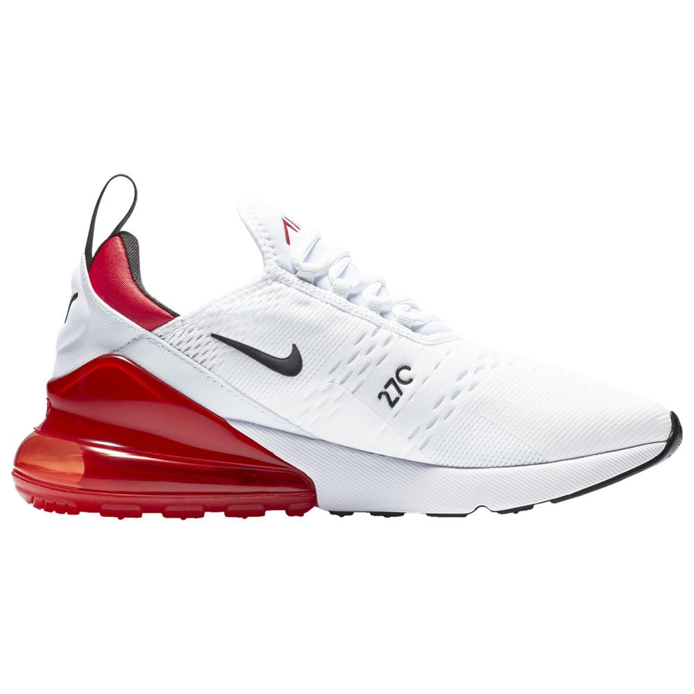 ナイキ Nike メンズ ランニング・ウォーキング シューズ・靴【Air Max 270】White/Black/University Red