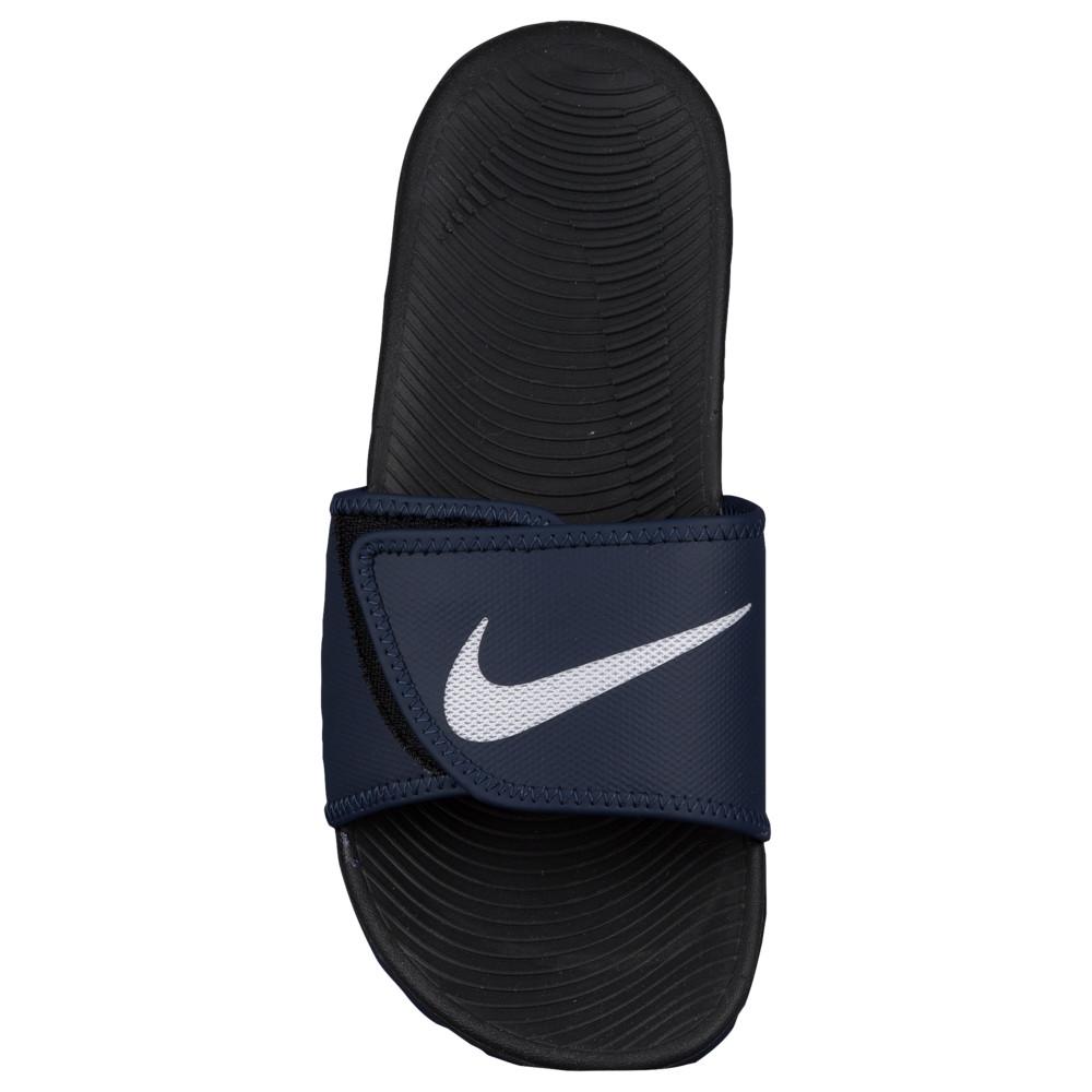ナイキ Nike メンズ シューズ・靴 サンダル Nike【Kawa Adjust シューズ・靴 ナイキ Slide】Obsidian/White/Black, 結婚還暦お祝にマイフィギュア:cc399ea2 --- sunward.msk.ru