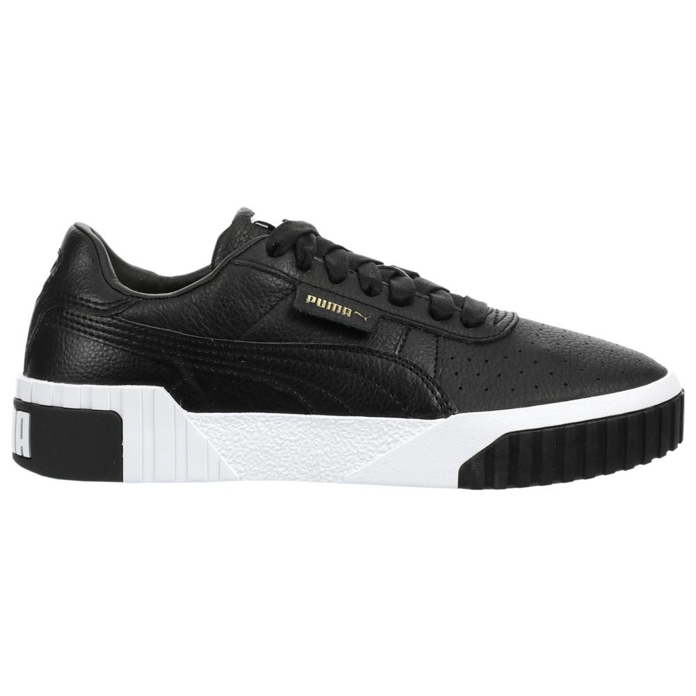 プーマ PUMA レディース フィットネス・トレーニング シューズ・靴【Cali】Black/White