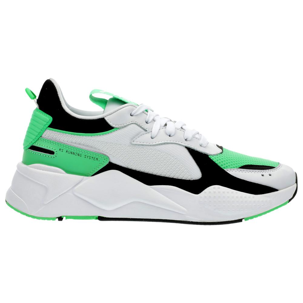 プーマ PUMA メンズ ランニング・ウォーキング シューズ・靴【RS-X】White/Irish Green Reinvention - available to ship mid March