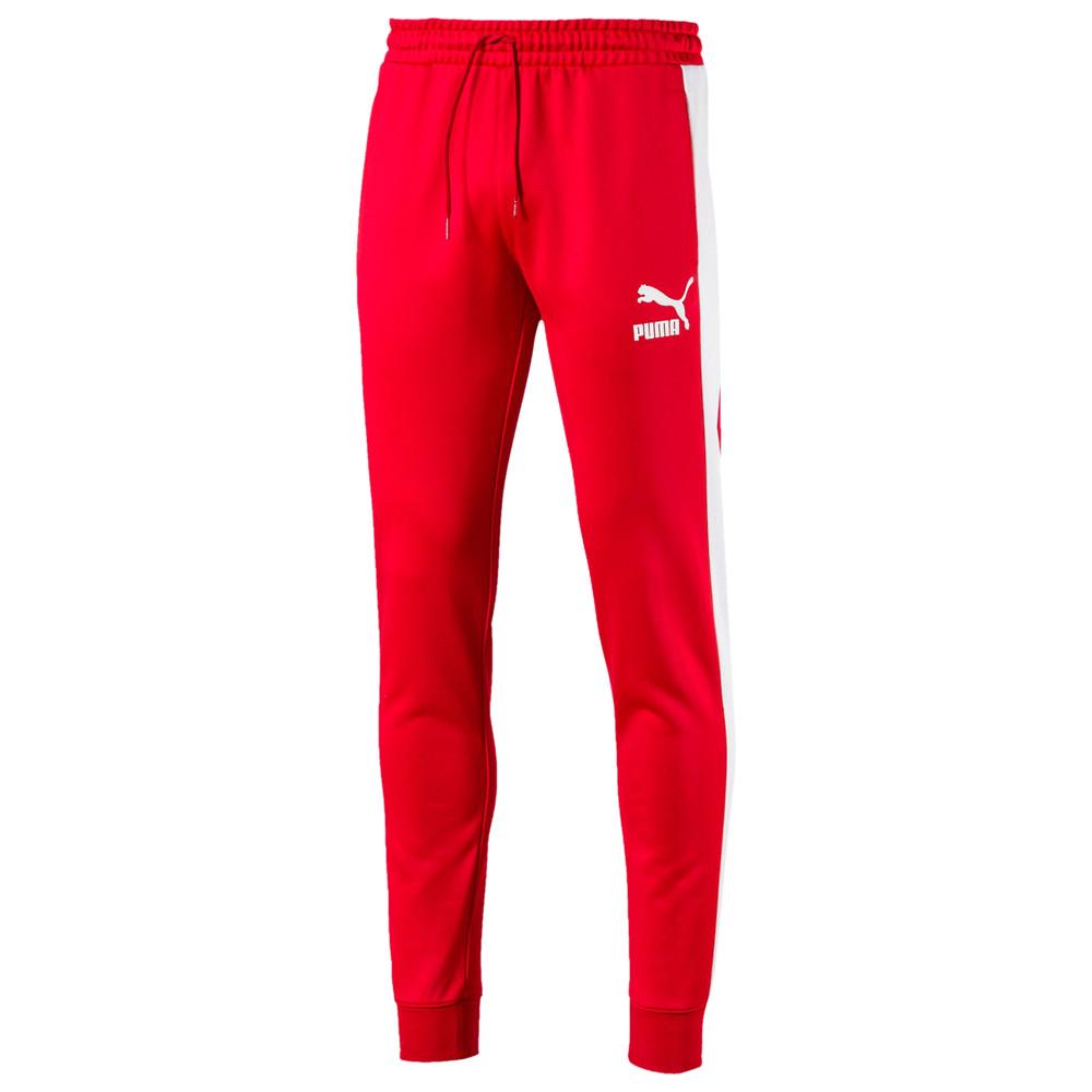 プーマ PUMA メンズ ボトムス・パンツ スウェット・ジャージ【Iconic T7 Track Pants】High Risk Red