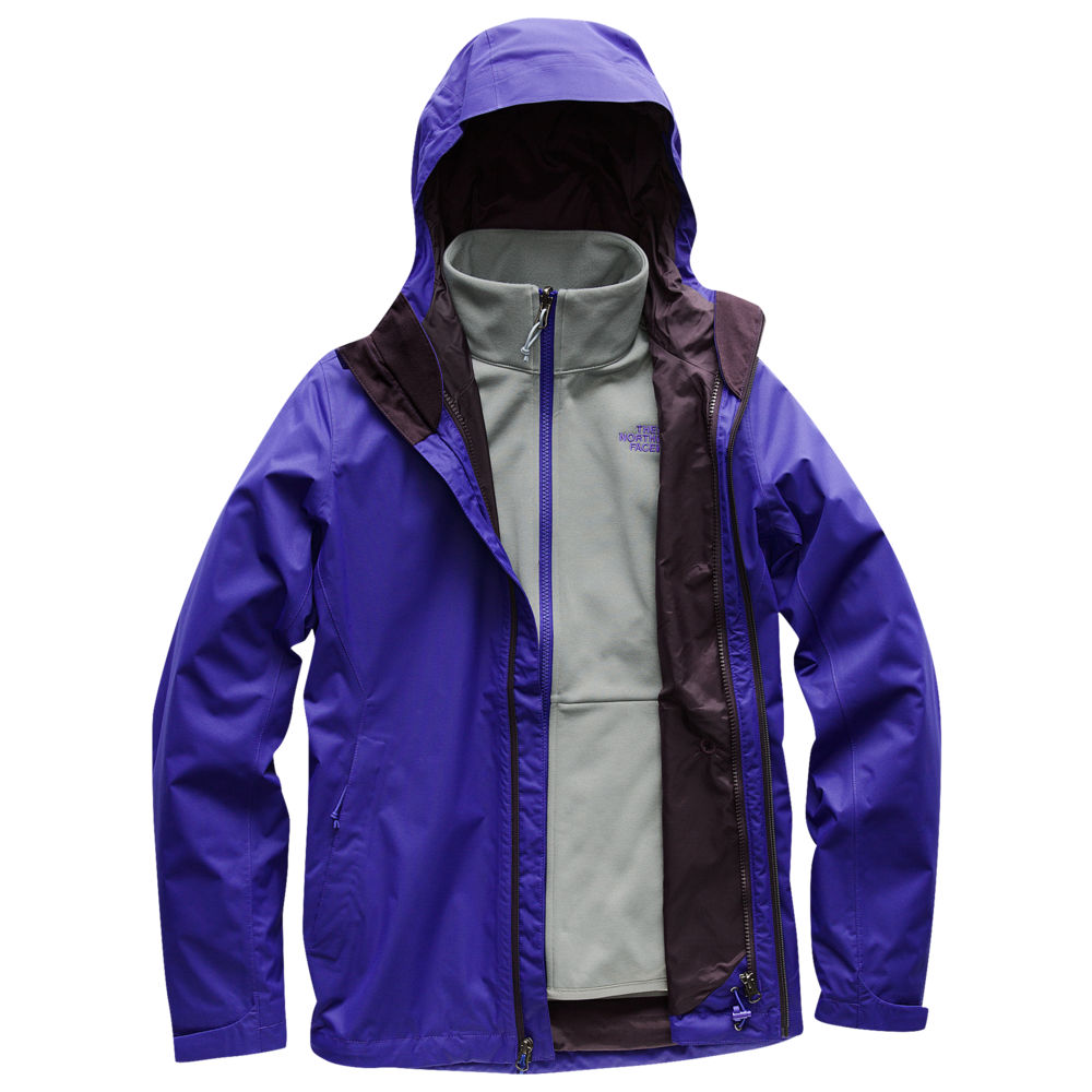 ザ ノースフェイス The North Face レディース アウター レインコート【Arrowood Triclimate Jacket】Deep Blue Dobby Past Season