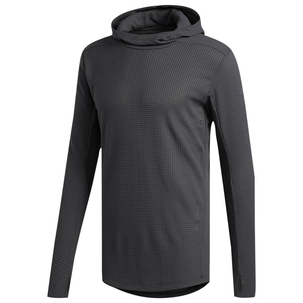 アディダス adidas メンズ ランニング・ウォーキング トップス【Supernova Pure Hooded T-Shirt】Dark Grey Heather