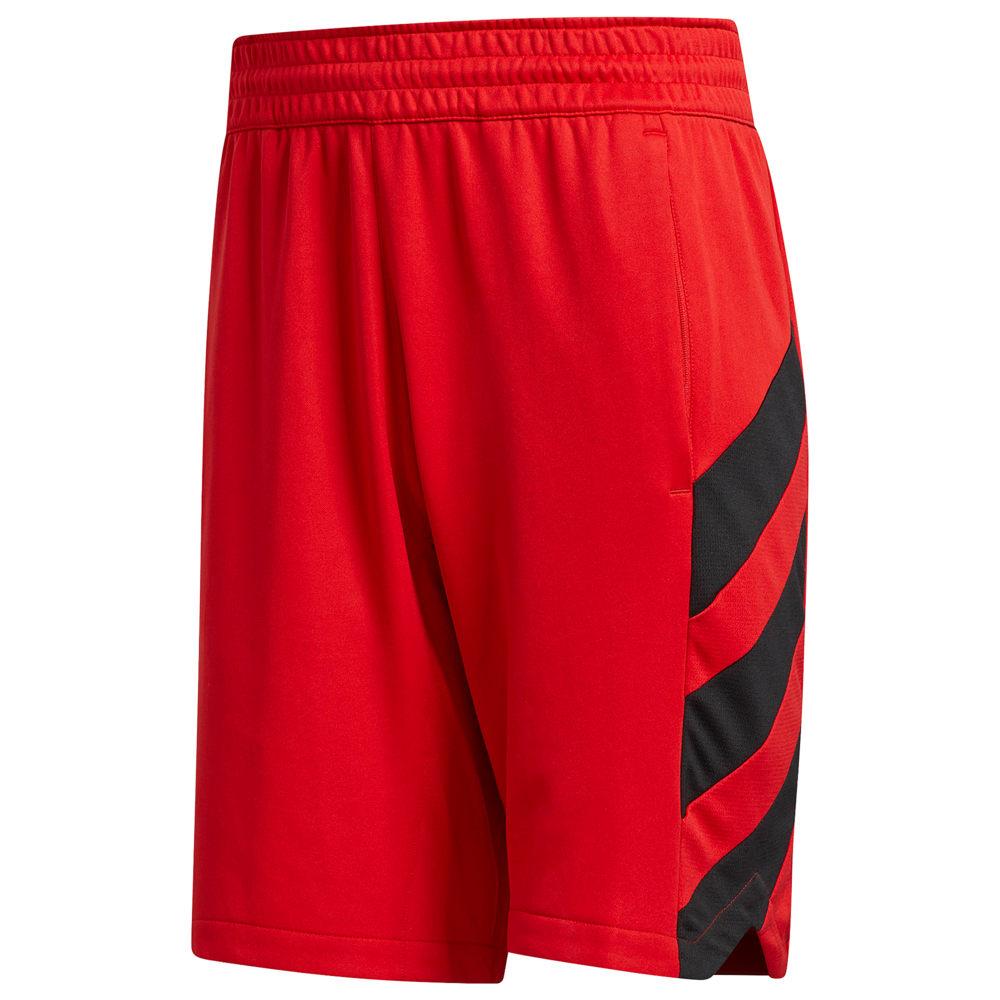 アディダス adidas メンズ バスケットボール ボトムス・パンツ【Harden Commercial Shorts】James Harden Scarlet