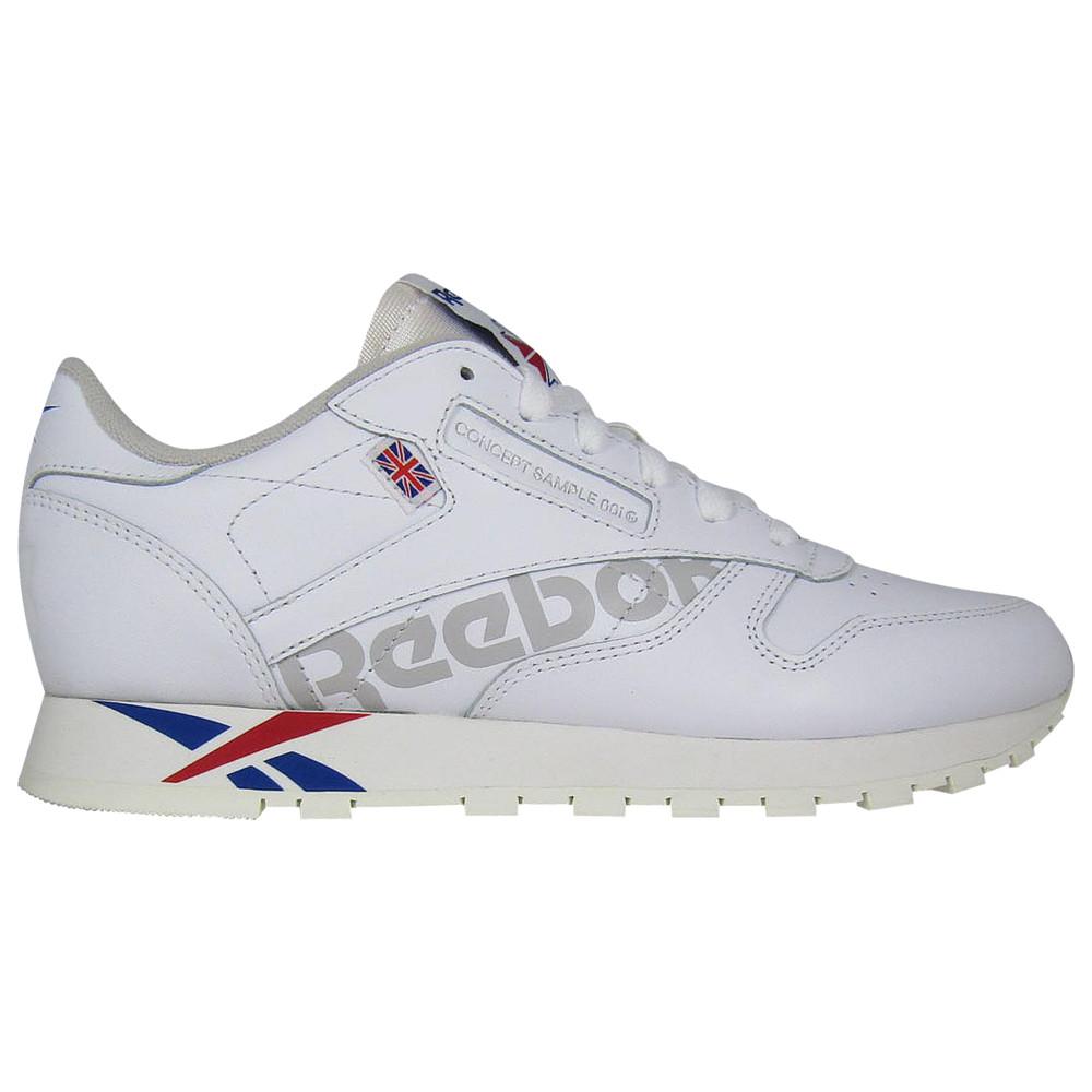リーボック Reebok レディース ランニング・ウォーキング シューズ・靴【Classic Leather Altered】White/Team Dark Royal/Excellent Red/Grey Alter the Icons