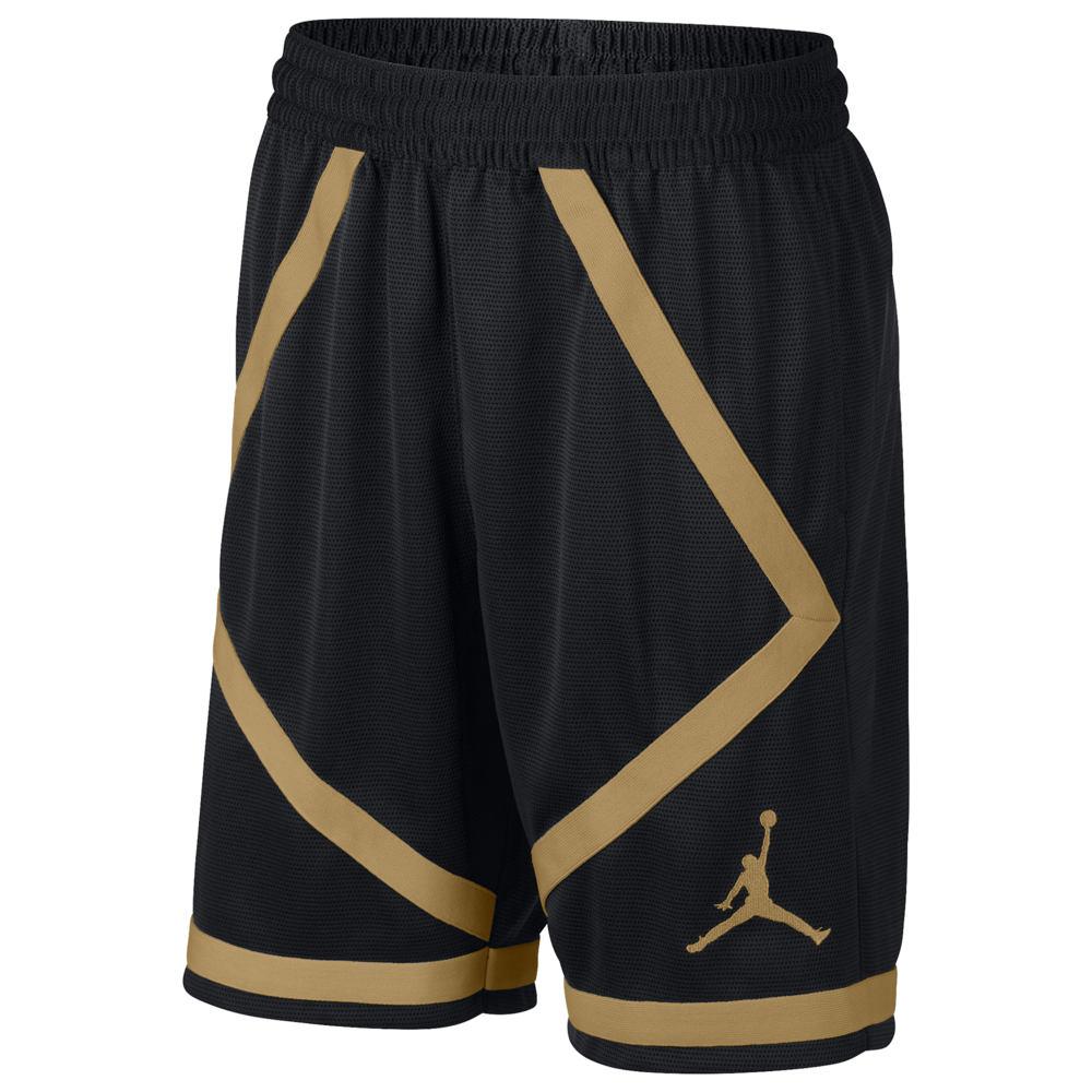 ナイキ ジョーダン Jordan メンズ バスケットボール ボトムス・パンツ【Taped Shorts】Black/Gold